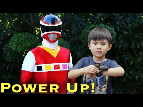 MORPH: Ranger Kid, Power Up! [Power Rangers]