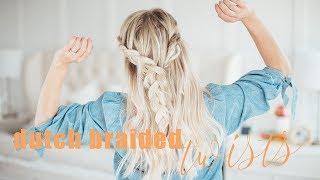 Easy Dutch Braided Hairstyle + Giveaway! | Twist Me Pretty
