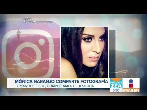 Mónica Naranjo Se Asolea Desnuda Noticias Con Francisco Zea