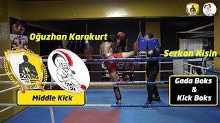 Middle kick nasıl atılır? / Orta seviye dairesel tekme / Middle roundhouse kick