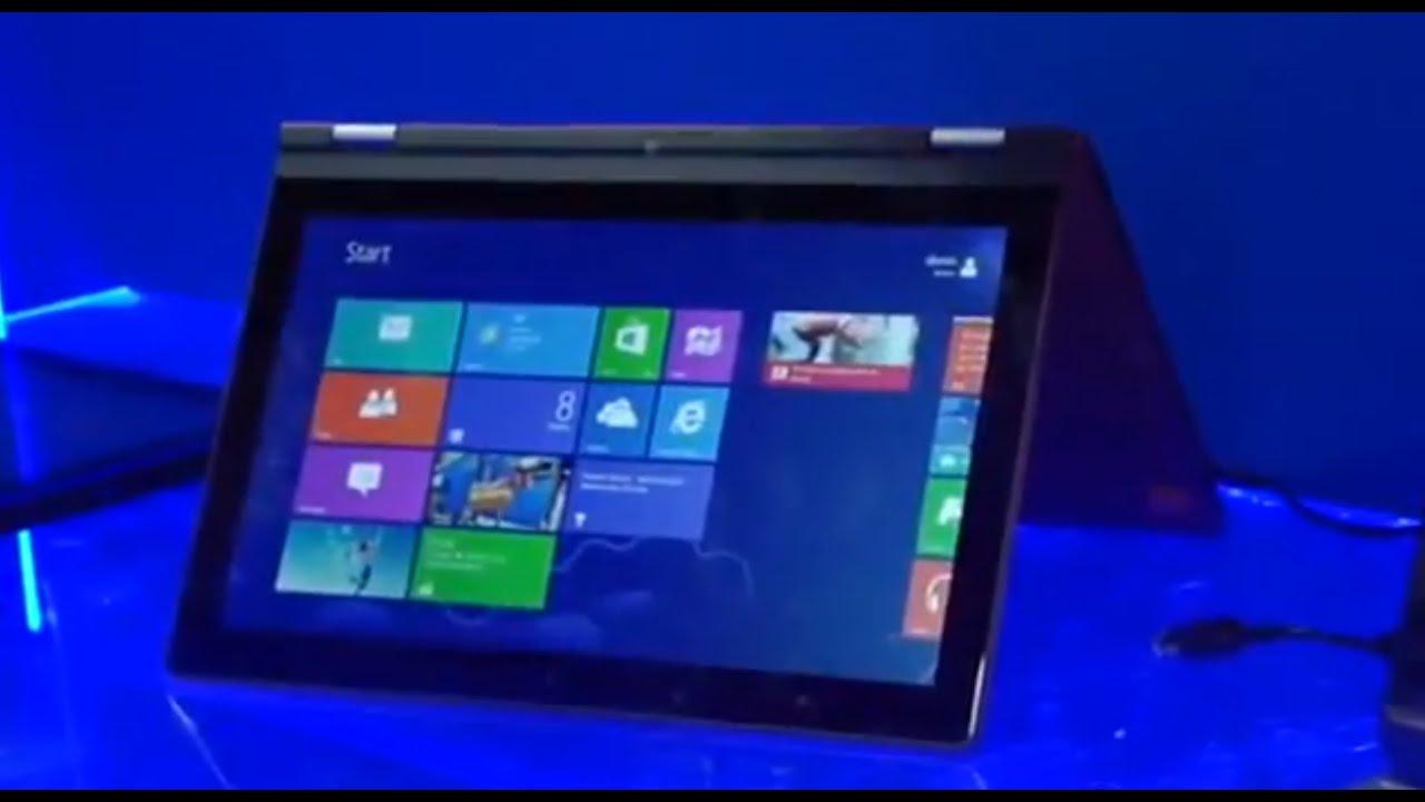 Intel Ultrabook Convertible | TechCrunch At CES 2013