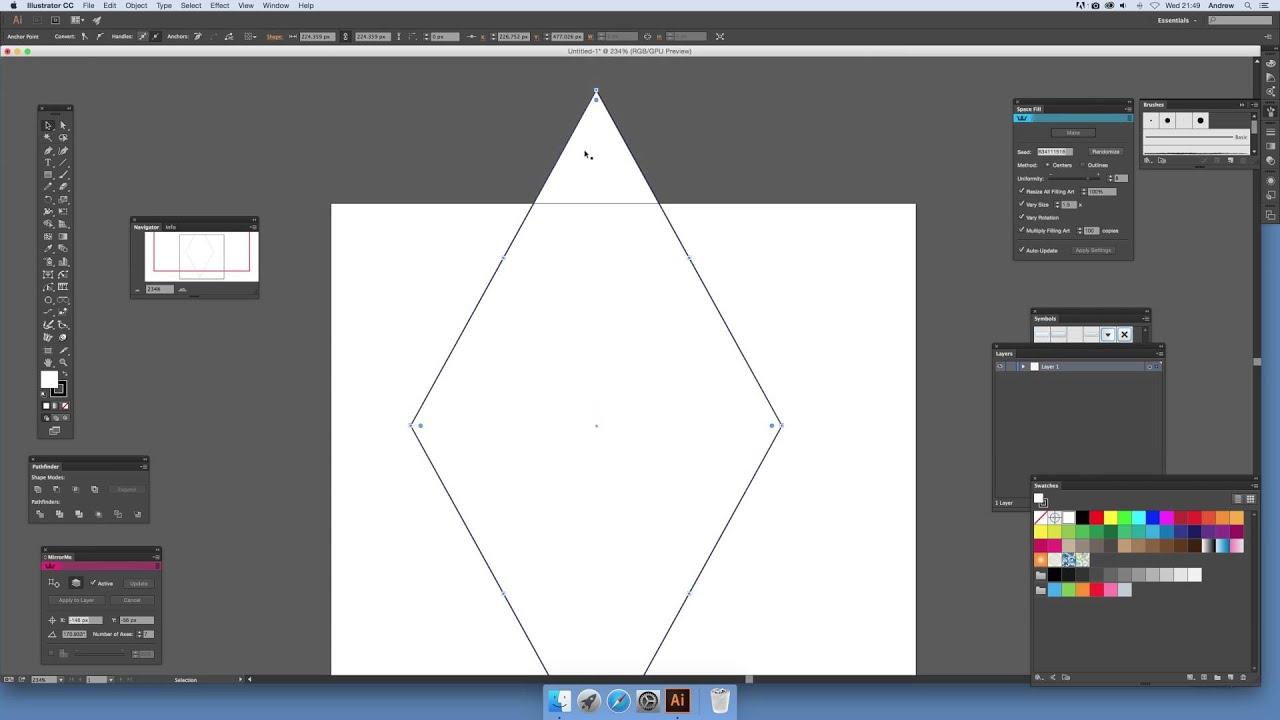 How to create a diamond symbol in illustrator intermediate how to create a diamond symbol in illustrator intermediate tutorial buycottarizona