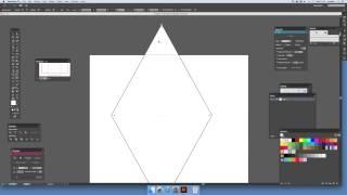 Illustrator CC öğretici elmas bir simge oluşturma
