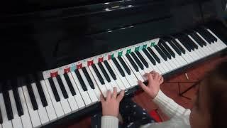 Soft Mozart в Чайковском, Карина, 6 лет 1 го обучения 3 месяц