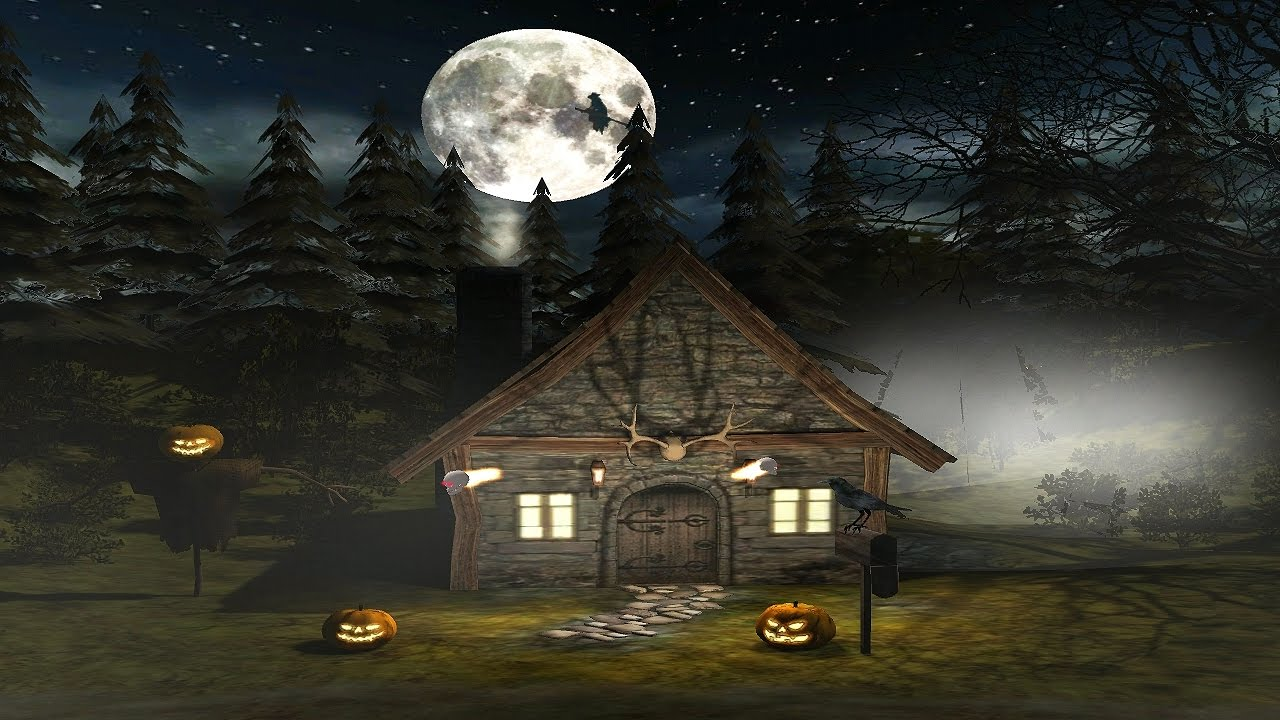 3d spooky halloween screensaver for windows hd youtube - Scary halloween screensavers animated ...