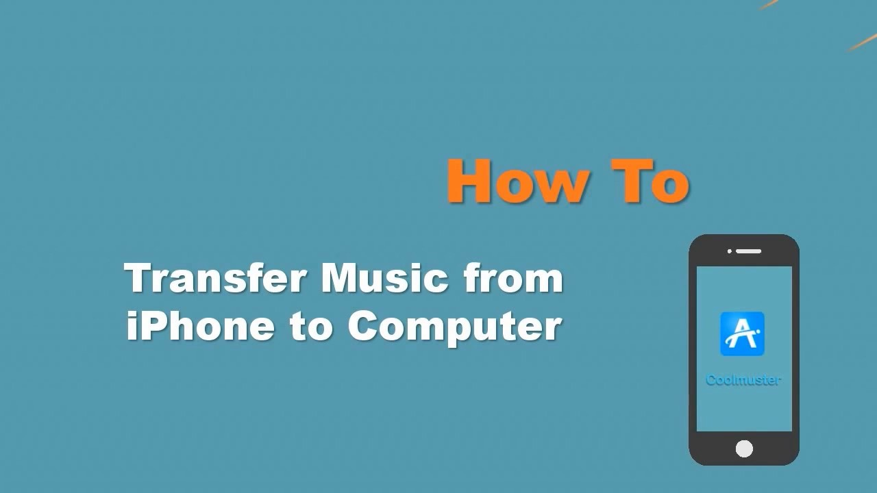 How to Transfer Music from iPhone Xs/Xs Max/XR to Computer/PC on