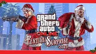 GTA 5 FESTIVE SURPRISE?! (GTA Online Christmas DLC)