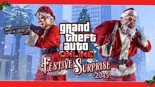 GTA 5 FESTIVE SURPRISE?! (GTA Online Christmas DLC)