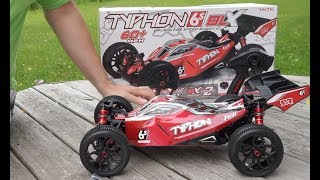 NEW Arrma Typhon 6S BLX v2 Speed Buggy Unboxing and Test - Netcruzer RC