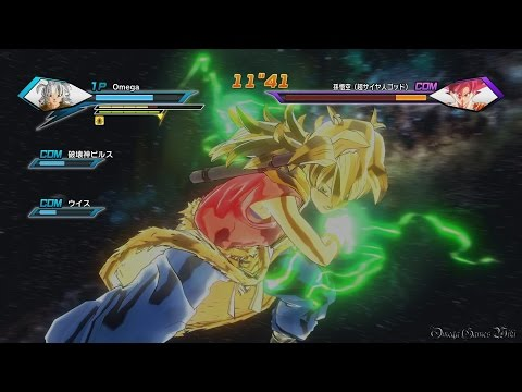 【PS4】DRAGON BALL XENOVERSE - Parallel Quest ★6 M42 超サイヤ人ゴッドの実力(大成功クリア)