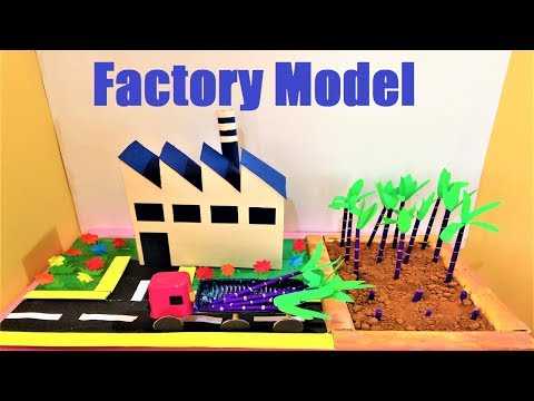 factory working model project | sugarcane agriculture model for school science fair/exhibition