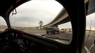 Ride shotgun with me in a 1955 OVAL WINDOW BEETLE | GoPro passenger side