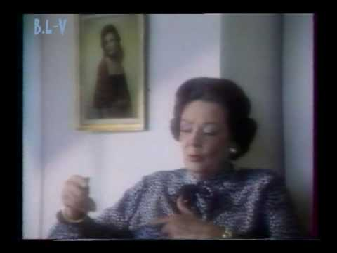 GENE TIERNEY - Interview in HOUSTON 1985  1/2