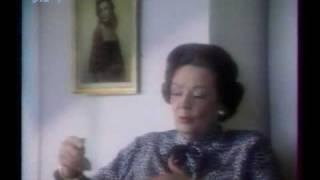 GENE TIERNEY - Interview in HOUSTON 1985  1/2