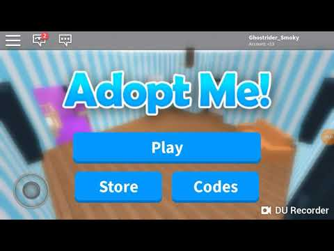 Codes for Adopt me - ROBLOX