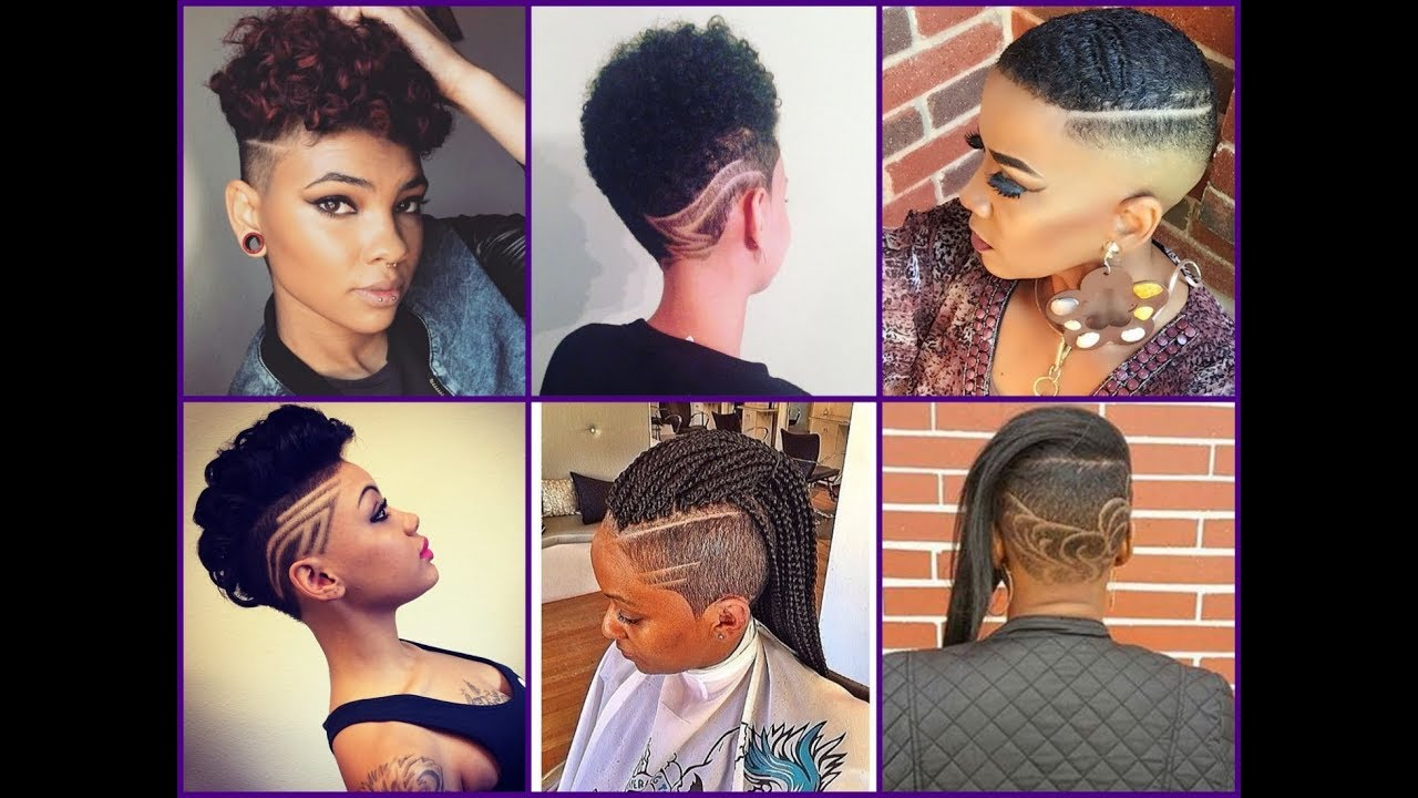 50 Best Mohawk Haircuts For African American Women Trendy Hairstyles 2018 Youtube
