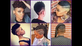 Video 50 Best Mohawk Haircuts for African American  Women - Trendy Hairstyles 2018 download MP3, 3GP, MP4, WEBM, AVI, FLV Juni 2018