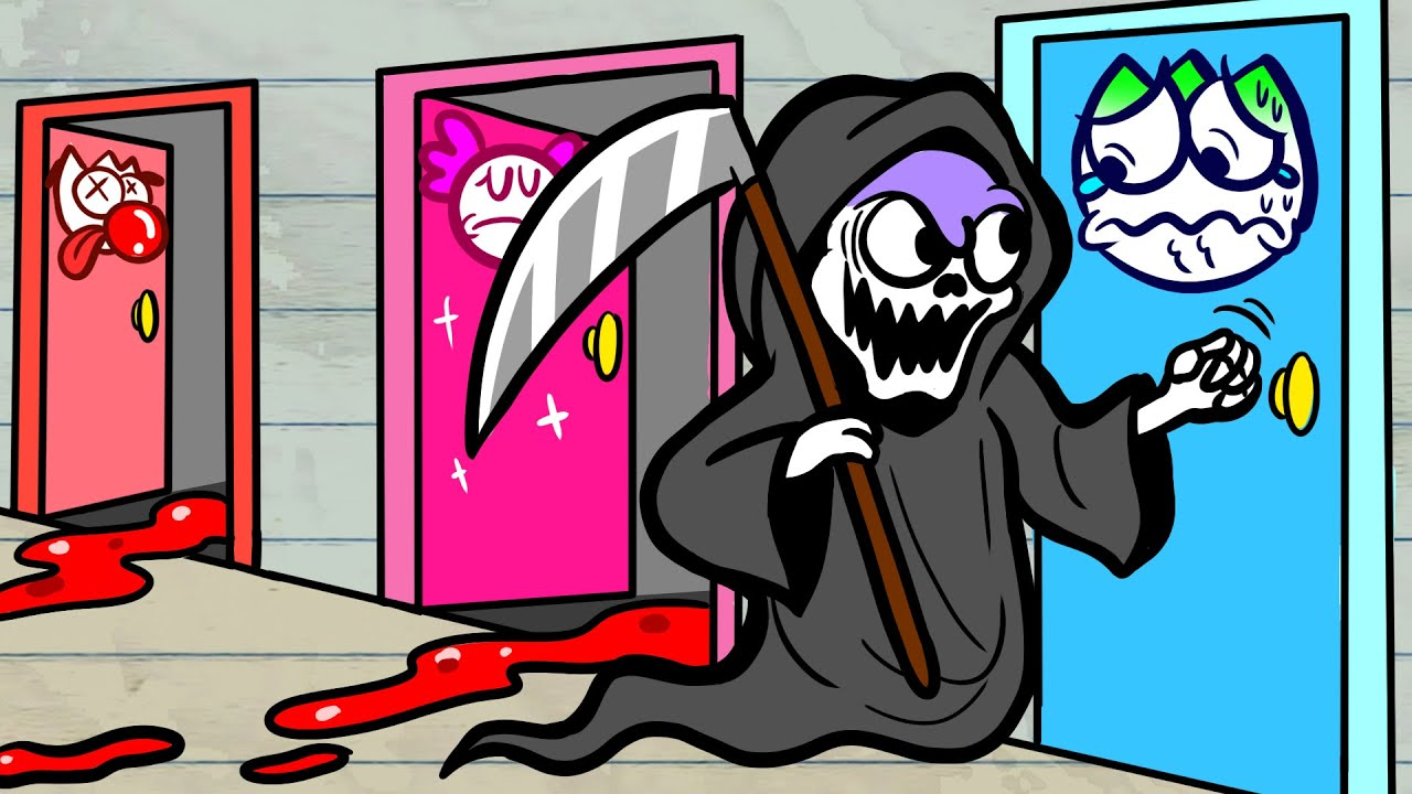 Max Waited In The Wrong Door - KNOCK FOR KNOCK Pencilanimation Funny Animated Film