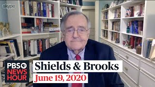 Shields and Brooks on Bolton's book claims, Juneteenth amid racial unrest