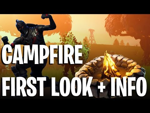 FORTNITE CAMPFIRE GAMEPLAY - REVIEW