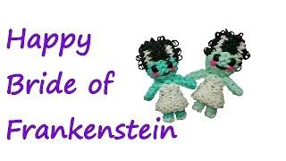 Happy Bride of Frankenstein Tutorial by feelinspiffy (Rainbow Loom)