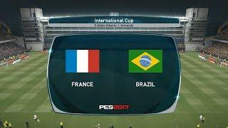 France vs Brazil World Cup Final Match PES 2017 PC Full HD