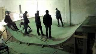 Skatehouse Diy - Phase 1 Mini Ramp
