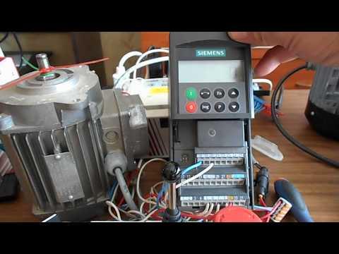 видео: siemens micromaster 440 Мотор-потенциометр(МОР) 2 часть