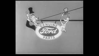 Ford Animated Commercials -  1950