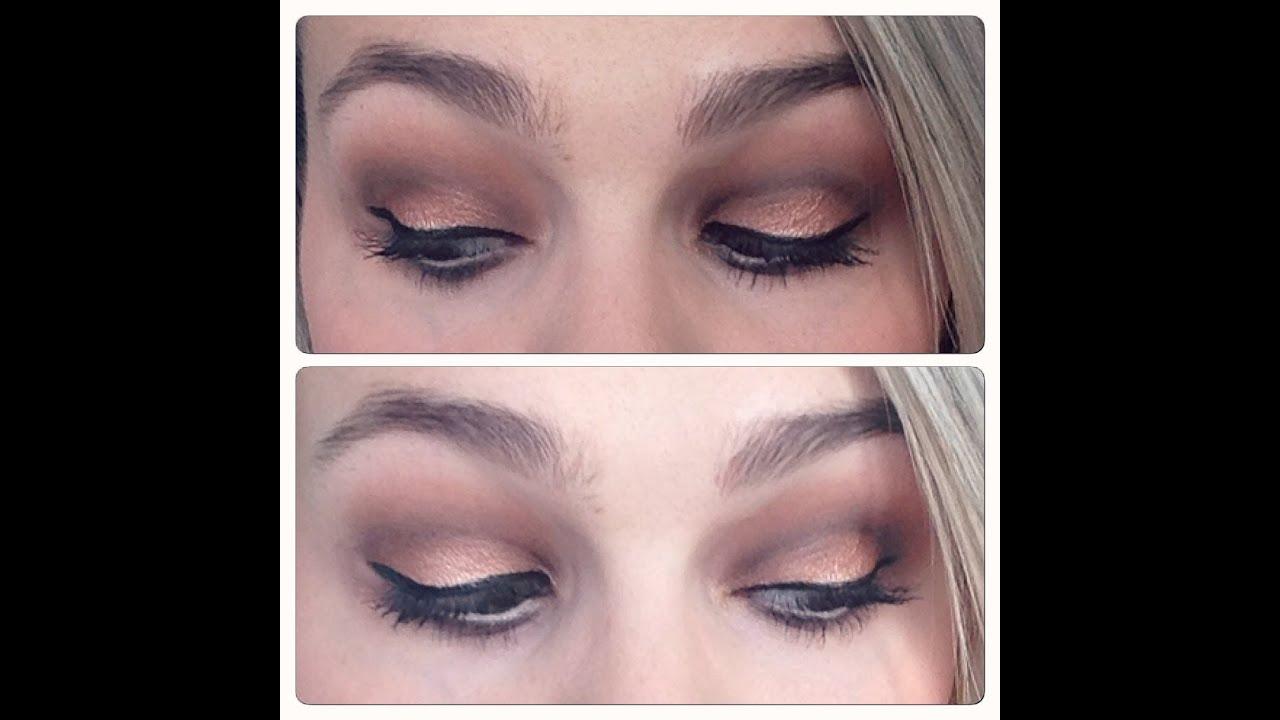 Tuto Maquillage Lumineux Avec La Palette Semi Sweet De Too Faced
