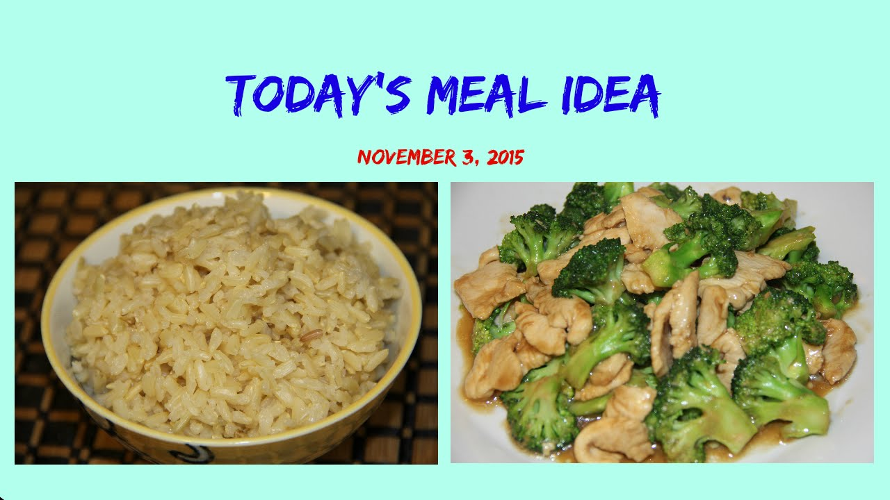 How To Cook Brown Rice And Chicken With Broccoli