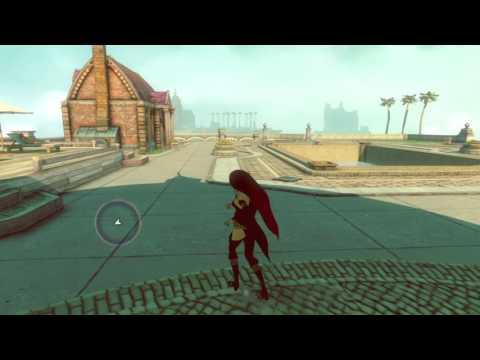 Raven Free Roam Gameplay / GRAVITY RUSH 2 (read desc.)