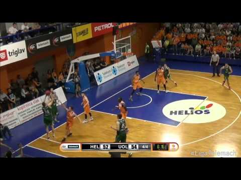 Helios Suns - Union Olimpija 72:69 (2. tekma, Liga Telemach, 1/4 finale, 7.5.2015) - Highlights