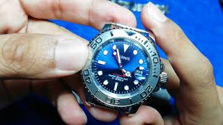 Gambar cover Parnis Yacht Master Homage watch full review