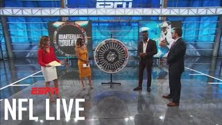Mohamed sanu likes cam newton's playing style | nfl live | espn