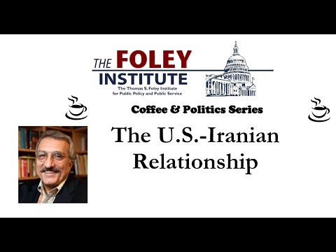 """The U.S.-Iran Relationship"" with Abbas Milani"