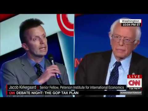 Bernie Sanders confronted by free market question from the audience