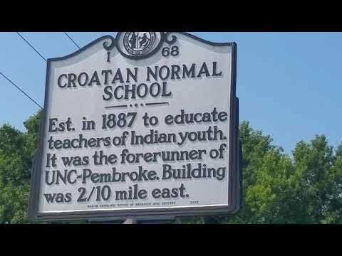Ask an Injin 356 UNC NORMAL SCHOOL