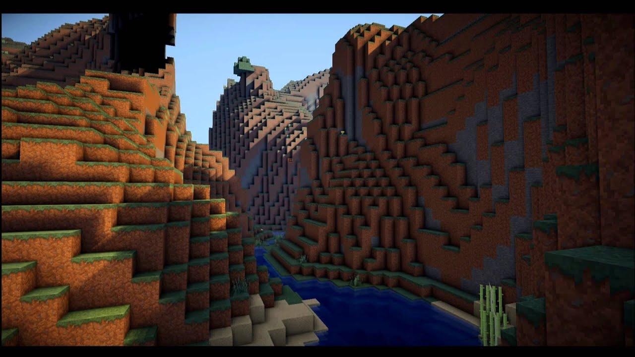 Minecraft Wallpaper 2 Shader HD Downloadlink
