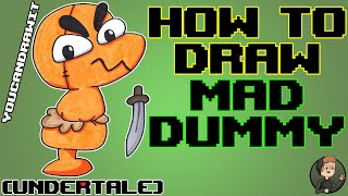 How To Draw Mad Dummy from Undertale ✎ YouCanDrawIt ツ 1080p HD