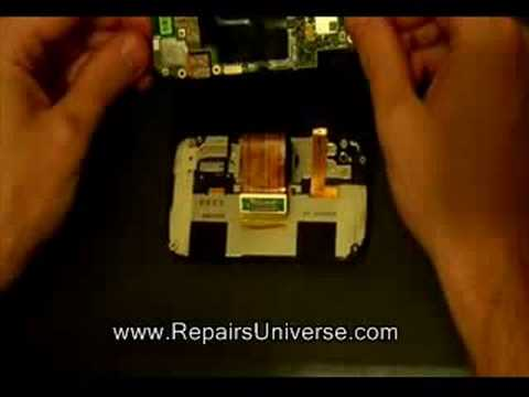 How to Dismantle HTC Wing P4350 Herald to Replace LCD Screen