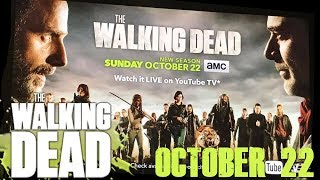 The Walking Dead Season 8 will Premiere October 22, All out War Banner Poster Reveal!