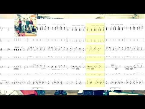 SCANDAL - 本を読む [Hon wo Yomu] [TABS] [譜]