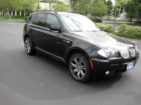 2007 black bmw x3 m sport pack walkaround youtube. Black Bedroom Furniture Sets. Home Design Ideas