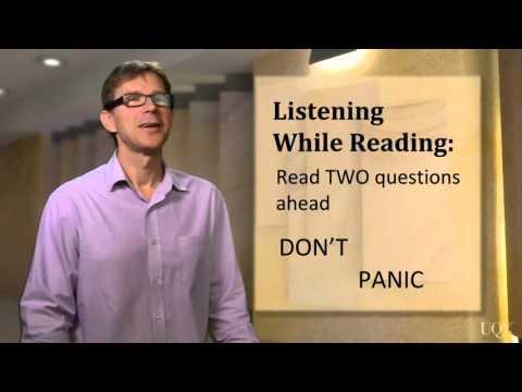 Listening: Unit 2: While Listening: Listening while reading