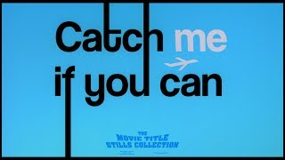 Catch Me If You Can (2002) Title Sequence