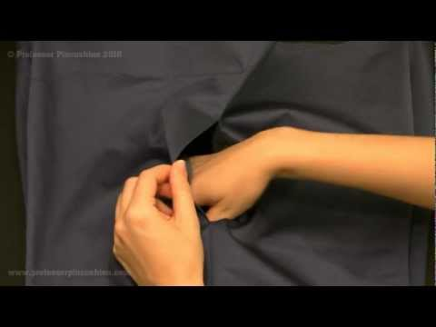 How To Sew In Side Pockets