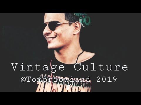 Vintage Culture  Tomorrowland 2019 Boom Belgium