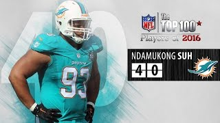 #40: Ndamukong Suh (DT, Dolphins) | Top 100 NFL Players of 2016