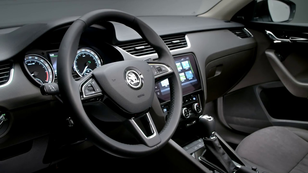 koda octavia interieur youtube